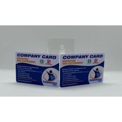 5 PEZZI - COMPANY CARD -...